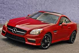 jeep mercedes red used 2015 mercedes benz slk class convertible pricing for sale
