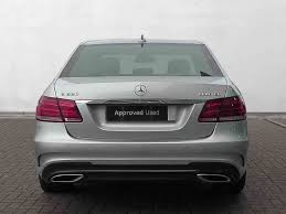 used mercedes e class saloon used mercedes e class saloon diesel in iridium silver from