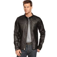 ferrari jacket puma ferrari leather jacket in brown for men lyst
