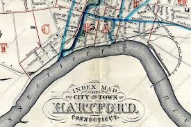 Portland Street Map by Front Street Remembered The Radius Project
