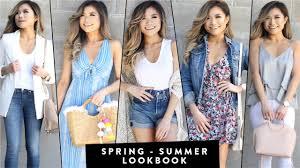 2017 spring to summer transitional lookbook summer ideas