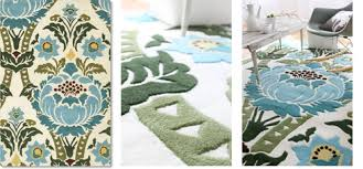 Round Tropical Area Rugs Amy Butler