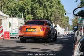bentley mulsanne speed orange bentley mulsanne speed 2016 27 august 2016 autogespot