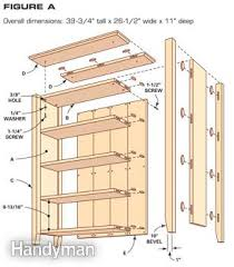 Simple Wood Bookshelf Plans by Simple Bookcase Plans Construction Woodworking And Wood Projects