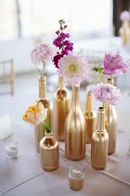 16 diy centerpiece ideas for your wedding painted wine