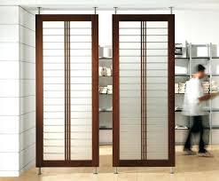 bedroom divider ideas sliding room dividers sliding panel room divider s side s sliding