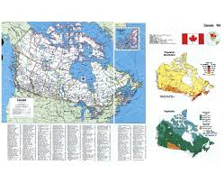 Population Map Of Canada by Maps Of Canada Detailed Map Of Canada In English Tourist Map