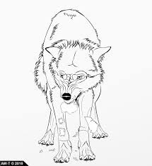 12 images of angry wolf pack coloring pages anime wolf pack