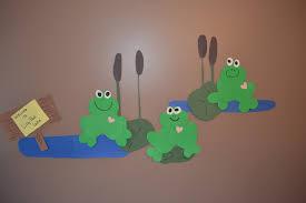 frog craft for kindergarten