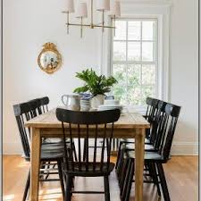 Black Farmhouse Table Little Farmhouse Table And Chairs Set Chairs Home Decorating