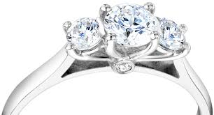 platinum rings stones images Three stone rings jpg