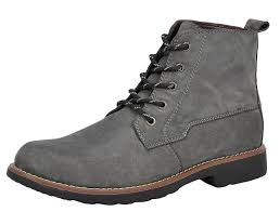 delicate rusway mens fashion casual british leather lace up mid