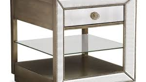 value city furniture end tables mirror end table modern milan mirrored black convenience concepts