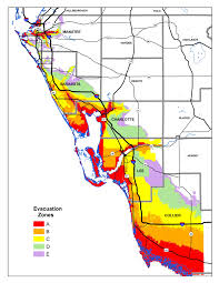 Flood Zone Map Florida by Know Your Hurricane Evacuation Zone Wgcu News