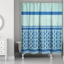 buy blue stripe shower curtain from bed bath u0026 beyond