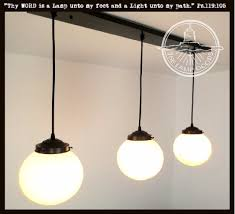 Hobnail Milk Glass Chandelier Vintage Large Milkglass Hobnail Globe Pendant Light The Lamp Goods