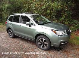 2017 subaru forester research webpage