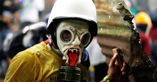 gas mask costume crisis protesters make creative gas masks for
