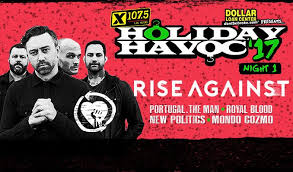 Portugal The Man All Your Light X107 5 Holiday Havoc Featuring Rise Against Portugal The Man