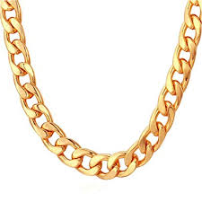 hip hop style necklace images Tuokay 18k faux gold chain necklace 90s punk style necklace jpg