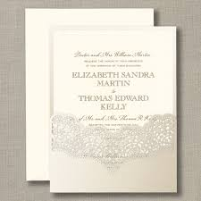 opal lace shimmer pocket with ecru wedding invitations crane