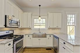 photo of kitchen cabinets kitchen winsome painted white shaker kitchen cabinets hilary1