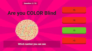 Hard Color Blind Test Color Blind Test Android Apps On Google Play