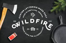Wildfire Website Design by Wildfire Font Display Fonts Creative Market