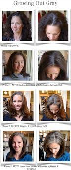 how to blend gray hair with lowlights growing out gray www urbanbetty com