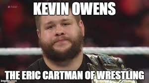 kevin owens is not impressed memes imgflip