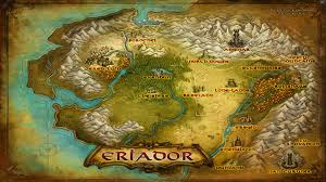 map from lord of the rings image map eriador jpg the one wiki to rule them all fandom