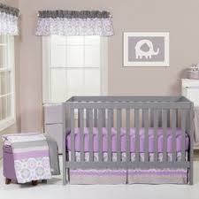 Purple And Teal Crib Bedding Purple Crib Bedding Sets You Ll Wayfair