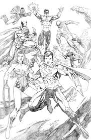 11 images of dc comics justice league coloring pages justice