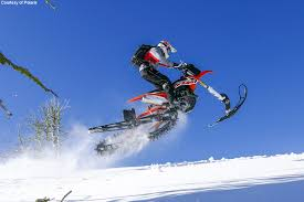 motocross snow bike timbersled expands snow bike conversion systems for 2016