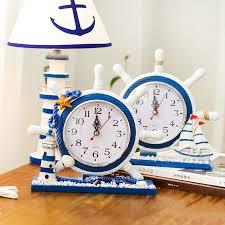 Nautical Desk Clock Nautical Desk Clocks Desk Design Ideas
