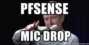 Drop Mic Meme - pfsense mic drop mic drop meme generator