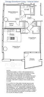 e floor plans 340 on the park floorplans chicago downtown living