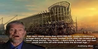 Ken Ham Meme - ken ham s reconstruction of noah s ark demonstrates absurdity of