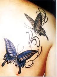 3d butterfly meaning on shoulder meaning for free
