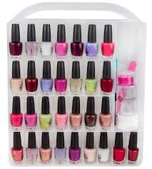nail polish organizer case in nail polish storage
