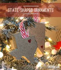 state shaped ornaments random crafts of kindness