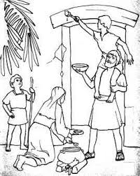passover coloring page 2 cities of refuge biblen coloring căutare biblie copii