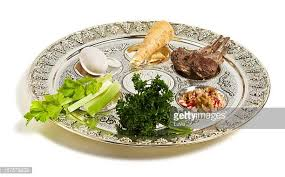 passover plate foods seder plate stock photos and pictures getty images