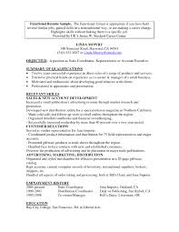 Combined Resume Examples by Combination Resume Sample Resume For Your Job Application
