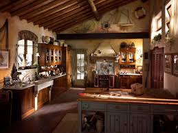Rustic Hickory Kitchen Cabinets Decor U0026 Tips Primitive Kitchen Islands And Rustic Kitchen