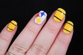 nail art steelers zps0834700d dreaded steelers nail art