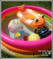 water themed birthday party games our little house in the country