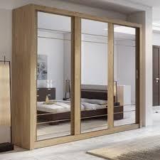 Clear Mirrored Wardrobe 2 Door Mirrored Wardrobes Wayfair Co Uk