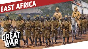 Colonial Africa Map by German East Africa World War 1 Colonial Warfare I The Great War