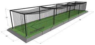 Basement Batting Cage by Best Dimensions For A Baseball Batting Cage